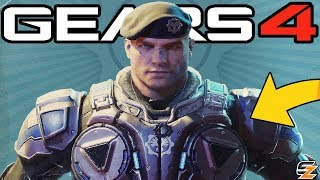 Gears of War 4 - New Future Gear Pack Characters teased!