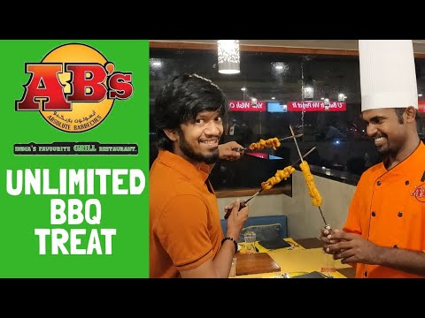 AB's -Absolute Barbecues|| Unlimited BBQ || Best Buffet Place In Coimbatore