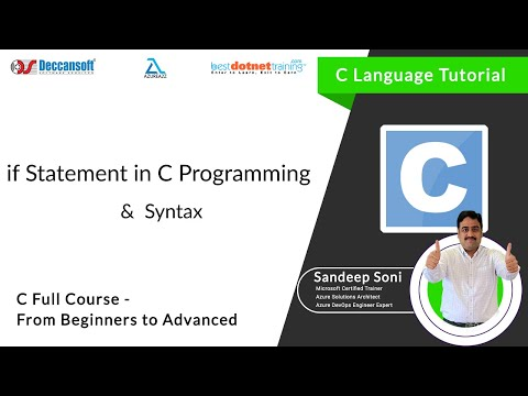 If Statement in C Language for C Beginners - C Programming Training