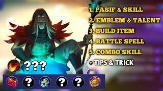 New Hero [FARAMIS] Skill, Emblem, Build, Combo Full Tutorial Menuju PRO - Mobile Legends Bang Bang