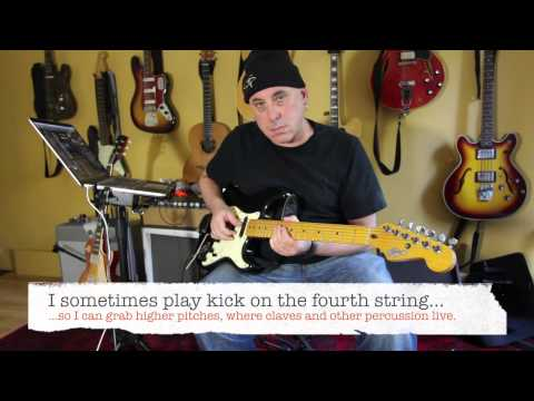 Playing Drums with Guitar (using Fishman TriplePlay)