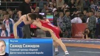 Драка на чемпионате России по вольной борьбе: у проигравшего сдали нервы