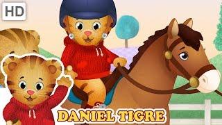 Daniel Tigre em Português 🐇 Animais no Bairro 🦆 Vídeos para Crianças 🐎