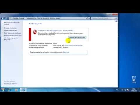 Windows 7 - Como desativar atualizações automáticas do sistema (Windows update)