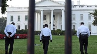 WHITE HOUSE FENCE JUMPER UNDETECTED LONG ENOUGH TO BAKE COOKIES!