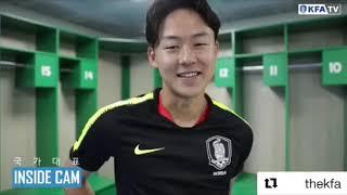 La federcalcio sudcoreana celebra Seung-Woo Lee