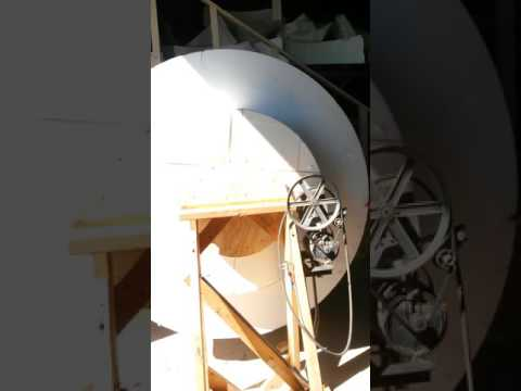 Rough cut of globe for float.