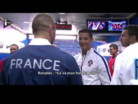 Cristiano Ronaldo à Benzema :
