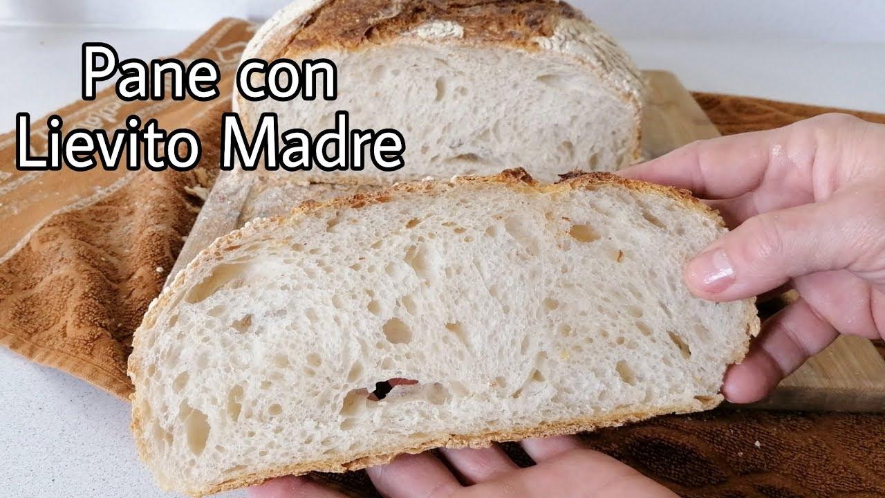 Ricetta Del Pane Lievito Madre.Pane Con Lievito Madre Fragrante E Leggero Youtube