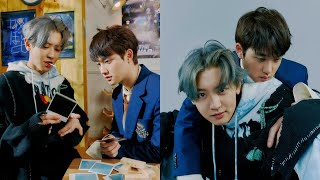 EXO's D.O. and Chanyeol show their playful side in the new concept photos for 'Don't Fight The Fee..