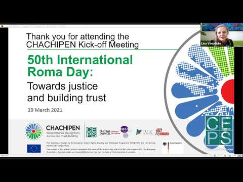 50th International Roma Day: Towards justice and building trust (CHACHIPEN Kick-off Meeting)