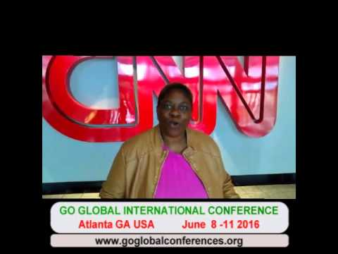 Go Global International Conference -Atlanta June 2016 - Attorney Abiola Fashina CNN Promo
