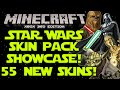 "Minecraft (Xbox360/PS3) NEW! ""STAR WARS CLASSIC SKIN PACK"" FULL SHOWCASE OF 55 NEW SKINS! [NEW!!]"