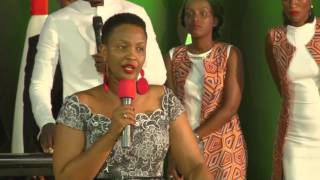 """Apostle Mignonne preaches at """"7 Days of worship Conference"""", Day 1"""