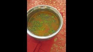 Mummy's Cooking - Mint Rasam in Tamil / Pudina Rasam