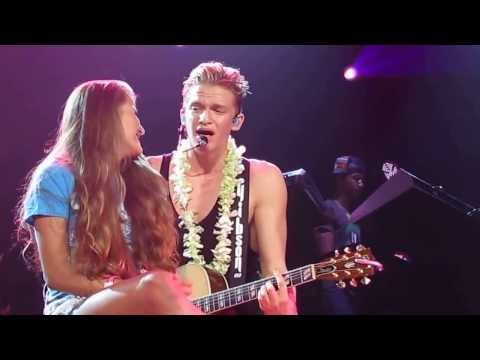 Cody Simpson And Evangeline Pergantis 7-14-13 Washington DC Angel