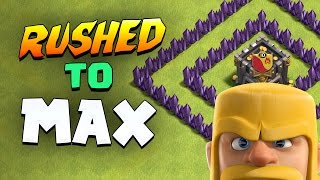 "Clash of Clans: ""MY RUSHED TOWN HALL Vs. 8,000,000 GOLD!"