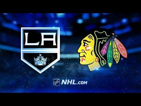 LOS ANGELES KINGS VS CHICAGO BLACKHAWKS 2/19/18