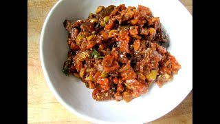 Capunatina Sicilian Eggplant Relish | EASY TO LEARN | QUICK RECIPES