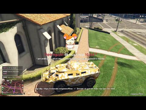 GTA 5 Online - Biệt Đội Cướp Ngân Hàng Siêu Tốc, Ngu Như Trâu =))