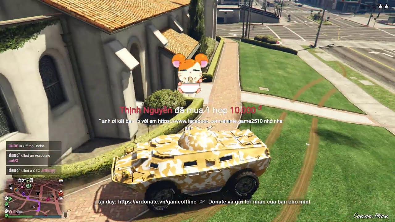 GTA 5 Online – Biệt Đội Cướp Ngân Hàng Siêu Tốc, Ngu Như Trâu =))
