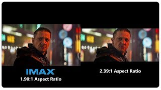 AVENGERS 4 Endgame IMAX Trailer vs Regular Trailer Aspect Ratio Comparison (4K ULTRA HD) NEW 2019