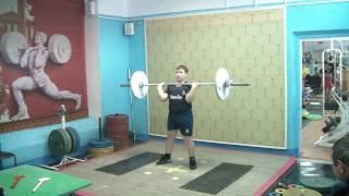 Бикмулин Илья, 11 лет св 70 Толчок 36 кг