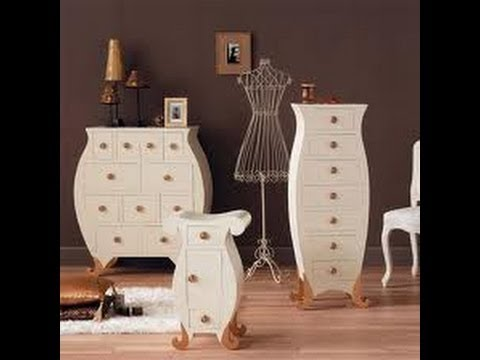 C mo decorar pintar y transformar sus muebles youtube - Como lacar muebles ...
