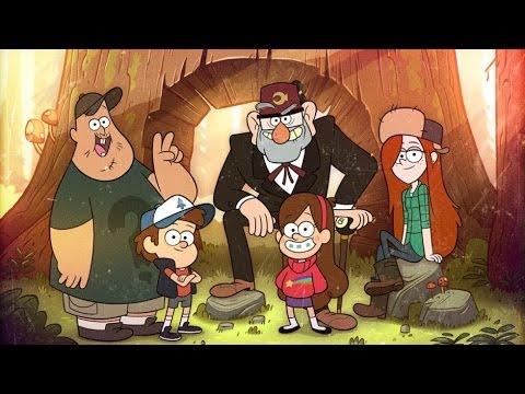 Gravity Falls All Characters Wallpaper La Verdadera Historia De Gravity Falls Youtube