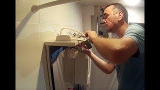 как починить светодиодный светильник, встроенный в шкафчик (замена трансформатора и лампочек)