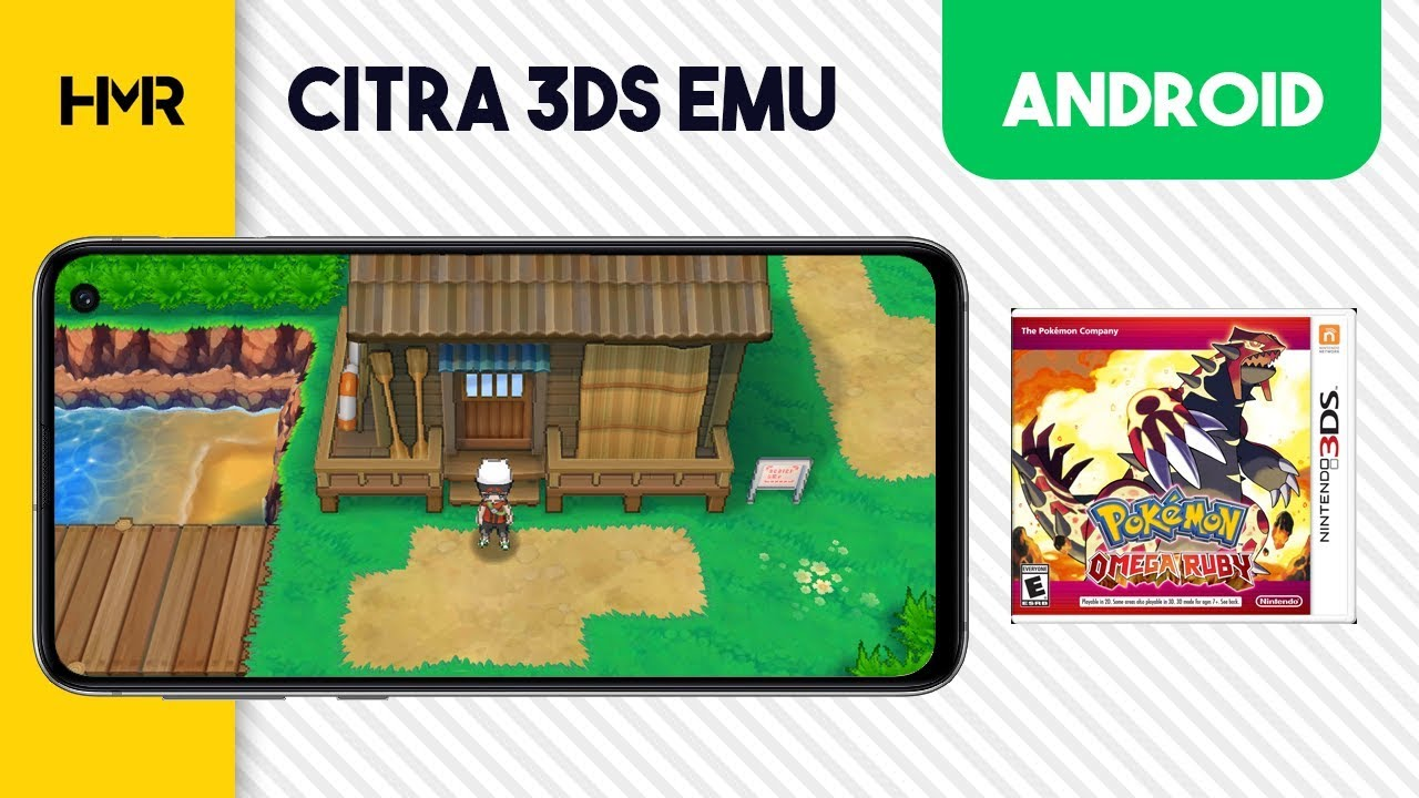 Android Citra 3DS - Pokemon Omega Ruby