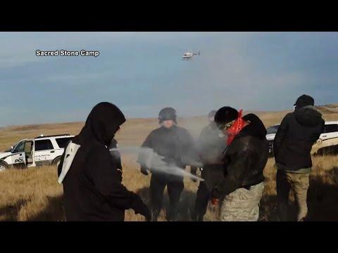 Standing Rock: Police Arrest 120+ Water Protectors as Dakota Access Speeds up Pipeline Construction