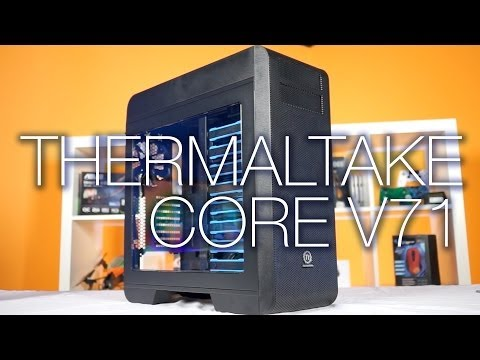 ThermalTake Core V71 Unboxing and Review