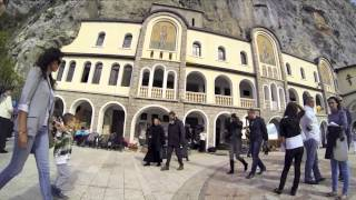 Visit Montenegro - Ostrog Monastery(Specific by the place in which it is located the monastery Ostrog represents one of the most valuable culturally -- historical and spiritual places in Montenegro., 2013-11-10T19:46:22.000Z)