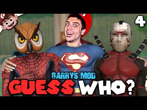 Spider-Vanoss! Super Chilled! DeliriousPool! ASSEMBLE! (Garry's Mod: Guess Who? - Episode 4)