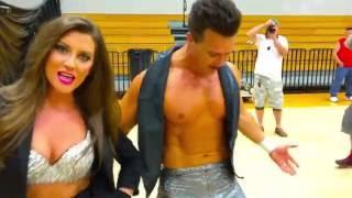 Dustin Starr w/Maria vs Nick Aldis