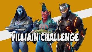 Villain Challenge | Fortnite Battle Royal |