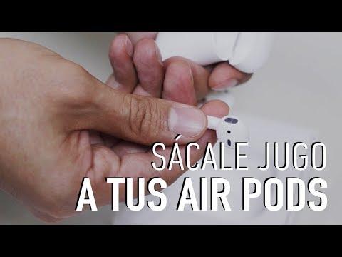 Trucos para los nuevos Air Pods de nueva generación
