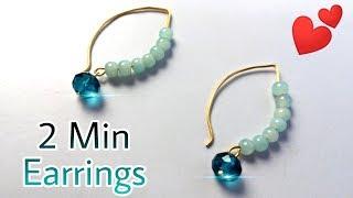 How To Make Earrings | Easy Tutorial For Beginners | Earrings Design Gold