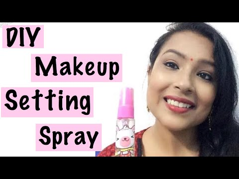 DIY Makeup Setting Spray with only 2 ingredients