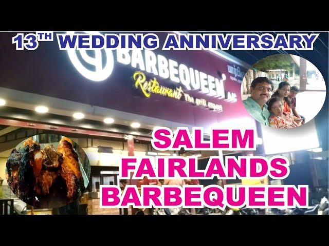 13th Anniversary celebration at Salem Fairlands Murugan Temple and Barbequeen restaurant