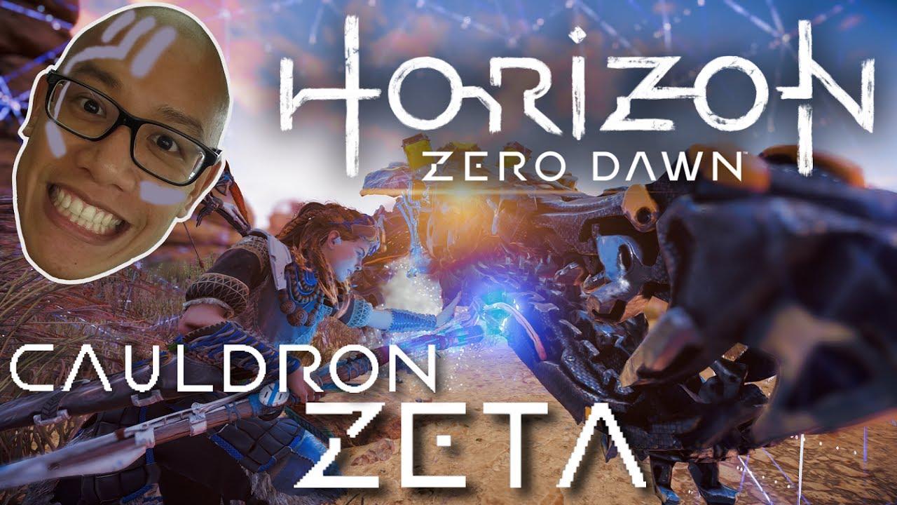 horizon zero dawn how to get into the cauldron