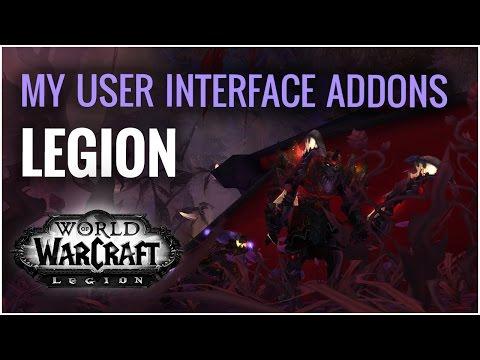 My Interface and Addons | World of Warcraft Legion | Fury Warrior