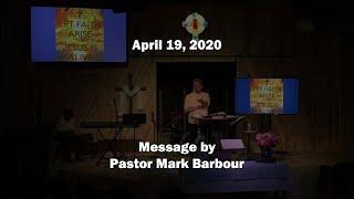 4-19-20 / Pastor Mark Barbour / New Covenant Fellowship