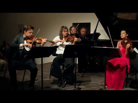 Brahms - Piano quintet in f minor, op. 34 (excerpt) - Rachlin, Jansen, McElravy, Maisky, Volodin