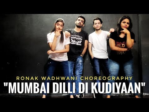 Mumbai Dilli Di Kudiyaan | Student Of The Year 2 | Ronak Wadhwani Choreography | Tiger, Tara, Ananya