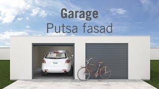 Garage - Putsa fasad