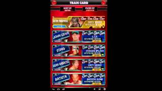 WWE Supercard #110 KOTR Rewards and RTG Porgress (HHH)