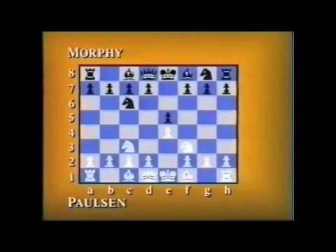 Louis Paulsen Vs. Paul Morphy - The Game Pt.1