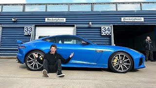 This COULD Be My New Car! - Jaguar F Type SVR